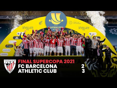 ⚽ HIGHLIGHTS I FC Barcelona 2-3 Athletic Club | Final Supercopa 2021