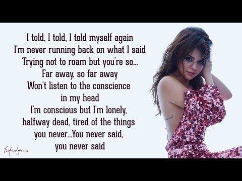 Selena Gomez - Forget Forever (Lyrics) 🎵