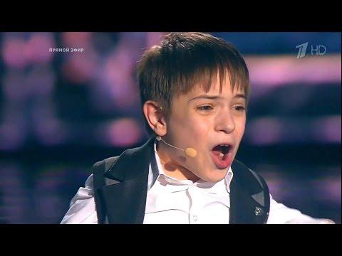 Фото Данил Плужников - Я свободен - Победитель Голос. Дети-3 2016 - Финал