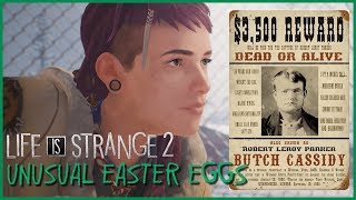 Unusual Easter Eggs in Episodes 1 and 2 of Life is Strange 2