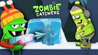ОХОТА НА ЗОМБИ БОССА и НОВЫЕ ПРОДУКТЫ Мульт игра для детей ЛОВЦЫ ЗОМБИ Zombie Catchers
