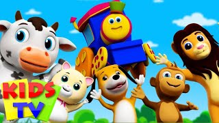 Bob The Train If You Are Happy And You Know It Popular Nursery Rhymes Bob Cartoons S01EP01
