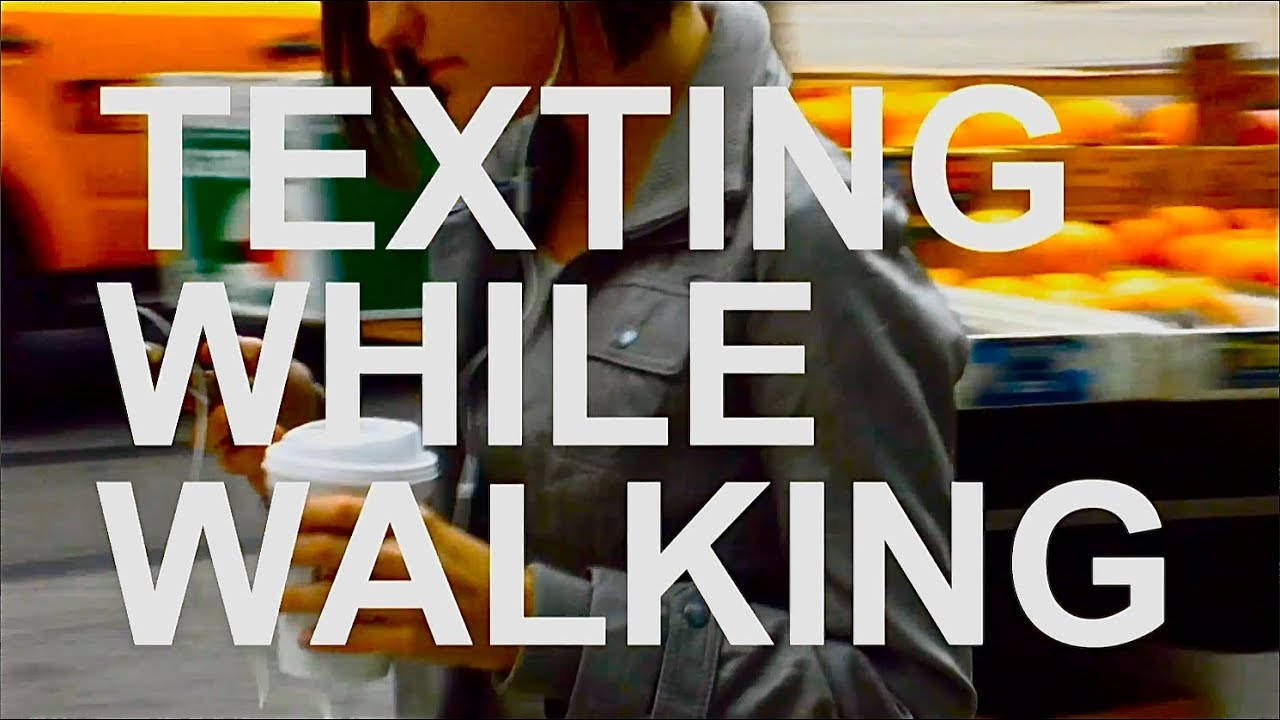 Watch This Hilarious PSA On Why You Shouldn't Text And Walk