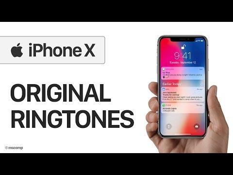 Apple iPhone X Ringtones & Notifications || Notched iPhone (Download Link in Description)