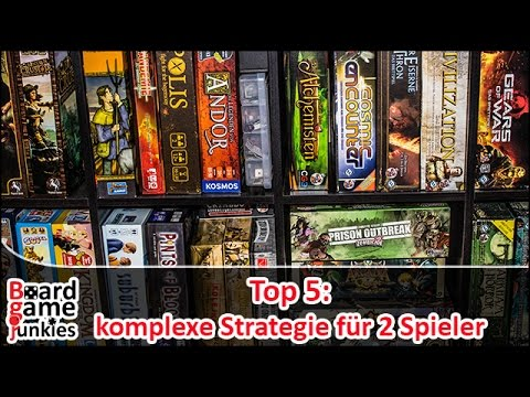[Topliste] Top5: Komplexe Strategiespiele für 2 Spieler - Brettspiele
