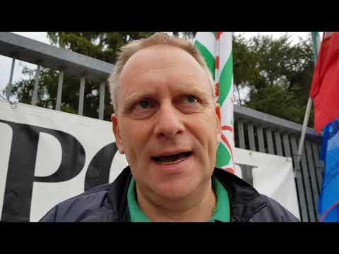 Sciopero Whirlpool Siena: Luciano Landini - Fim