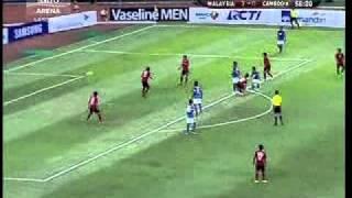 Sea Games 2011 : Football : Malaysia 4 Cambodia 1
