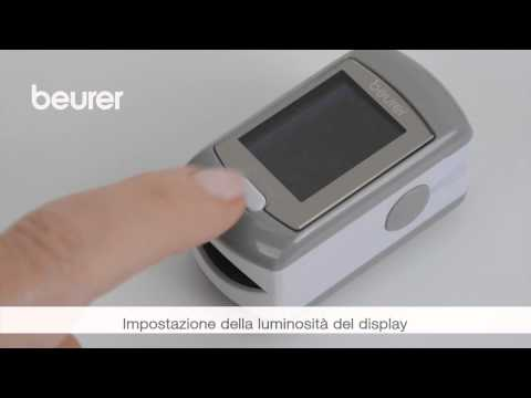 Quick Start Video sul pulsossimetro PO 80 di Beurer