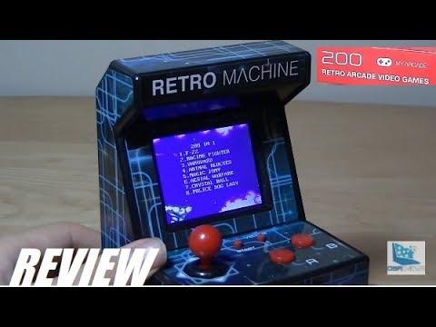 REVIEW: Mini Retro Arcade Machine (DreamGEAR)