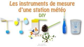 DIY Maquette d'instruments de mesure d'une station météo