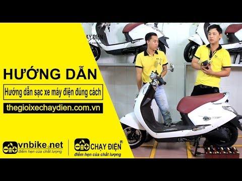 Hướng dẫn sạc xe máy điện đúng cách