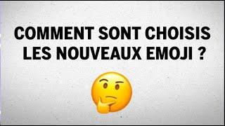 Comment sont choisis les nouveaux emoji?