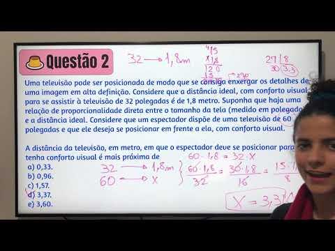 Aula 22 | Regra de Três Simples - Parte 02 de 02  - Matemática