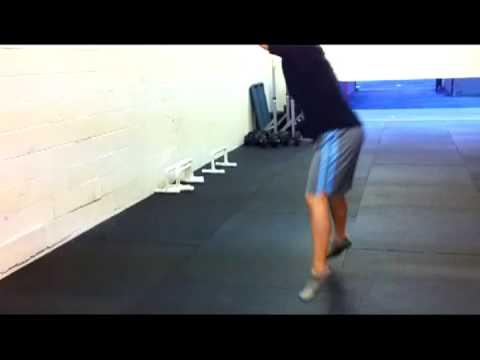 Medicine Ball Forward Wall Throw
