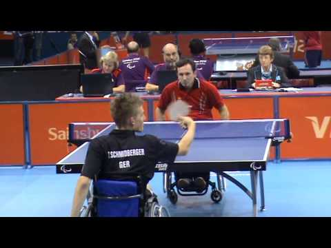 London 2012 – KESLER Zlatko (SRB) – SCHMIDBERGER Thomas (GER) 3
