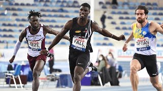Miramas 2021 : Finale 60 m M (Mouhamadou Fall en 6''64)