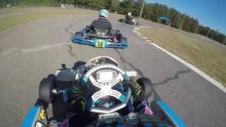 IAME KA100 Test Race Vs Yamaha KT100 SR Y