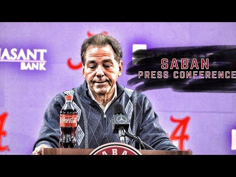 Saban discusses his reasoning for playing Tua