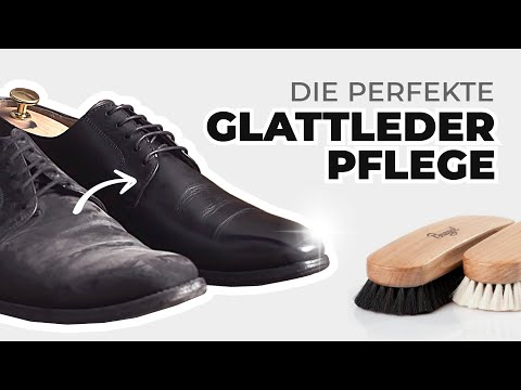 Glattleder-Schuhpflege leicht gemacht