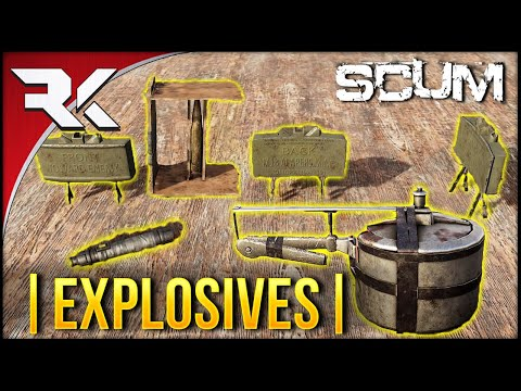 SCUM LEAKS 0.3 Update - Explosives/Traps | Demolition Skill | Claymore | Pipe Bomb | + More!