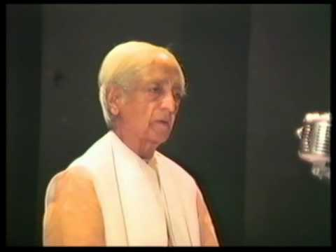 What is true and what is false? | J. Krishnamurti