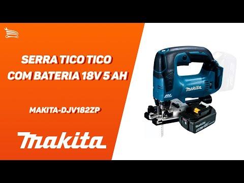 Serra Tico Tico a Bateria 18V 5Ah Li-Ion sem Carregador - Video