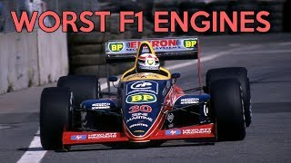 6 Of The Worst F1 Engines Ever
