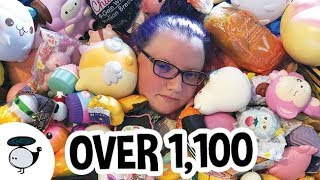 BIGGEST SQUISHY COLLECTION - OVER 1100 SQUISHIES