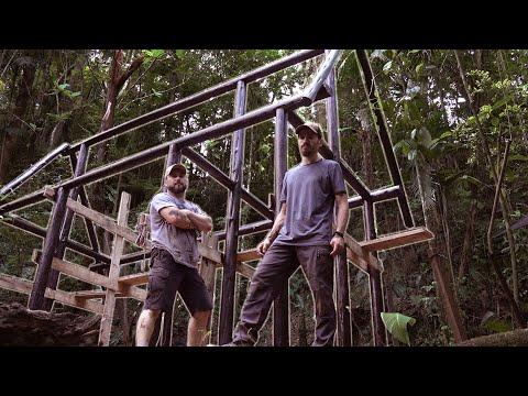 Vamos pintar a estrutura da cabana! - Projeto Refúgio Ep.13