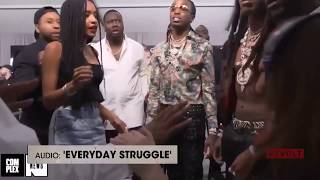 Migos Press Up On Joe Budden After He Drops Mic And Ends Their Interview Short, BET Awards 2017
