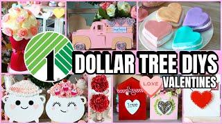 $1 DOLLAR TREE VALENTINES DAY DIYS 2021