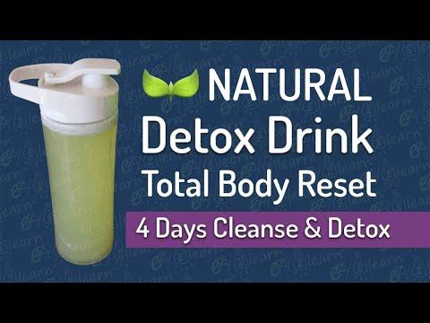 Detoxifierea corpului curăță corpul