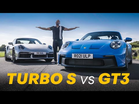 NEW Porsche 911 GT3 vs Turbo S: Agility vs Power   4K