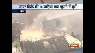 Major fire breaks out in Mumbai s Bandra