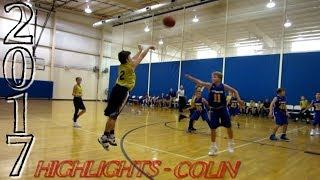 2017 BASKETBALL HIGHLIGHTS of COLIN / Fun Year / More to Improve