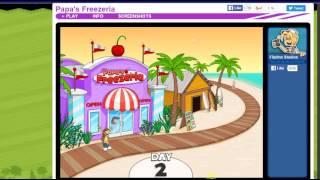 Papa's Freezeria part 1