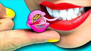 100X Smaller!!! DIY Tiniest Mini Hubba Bubba Bubble Gum! CC Available