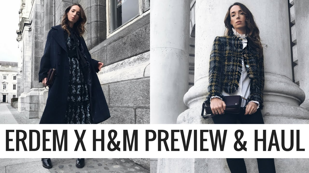 ERDEM X H&M Preview & Haul! 🍂 👗  | CIARA O DOHERTY | AD