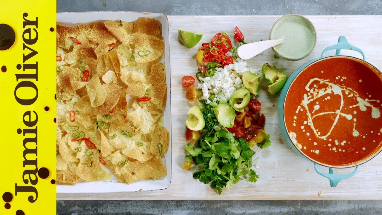 Mexican recipes jamie oliver jamies mexican tomato soup forumfinder Choice Image