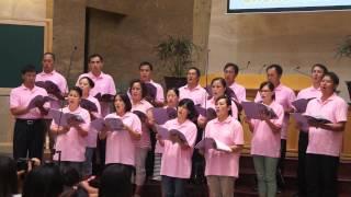 上巴陵教會成人獻唱