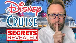 [Secrets Revealed] Disney Cruise | Full Ship Tour With Fun Facts, Secrets And Trivia