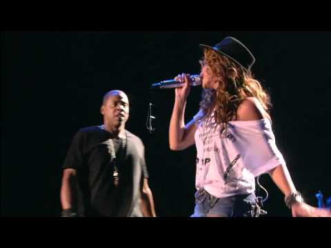 Video Beyonce live Feat Jay-Z Forever Young