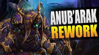 Anub'arak - another rework! (new beetles build) // Heroes of the Storm PTR