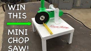 DIY Mini Chop Saw  Harbor Freight Angle Grinder