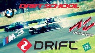 Assetto Corsa - BMW M3 E30 Drift School (DAY 1)