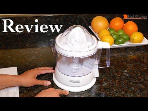 BLACK+DECKER CJ625 30-Watt 34-Ounce Citrus Juicer Review