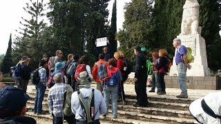 preview picture of video 'שביל ישראל מסלול 2 -  29 11 Our trip to Israel National trail route 2 - 2014'