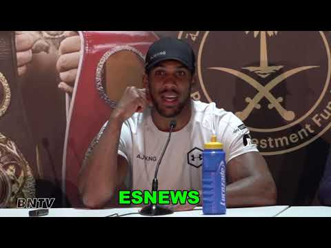 Anthony Joshau Reveals What Makes Andy Ruiz Different Than Other People He Faced  EsNews Boxing