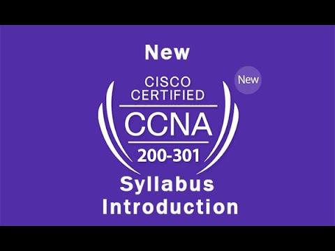 New CCNA 200-301 Syllabus Introduction - YouTube