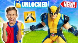 Ferran Finally Unlocks WOLVERINE SKIN In Fortnite! **SECRET REVEALED** | Royalty Gaming